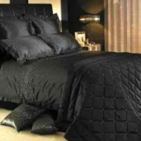 Комплект Kylie Minogue at Home Diamond Bed Linen Black 150x220